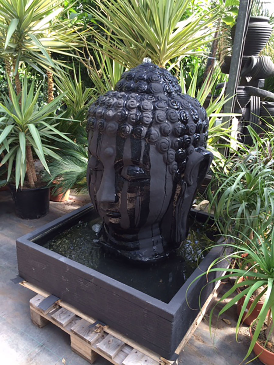 Fontaine Buddha DEWI décoration mobilier de jardin Sanary