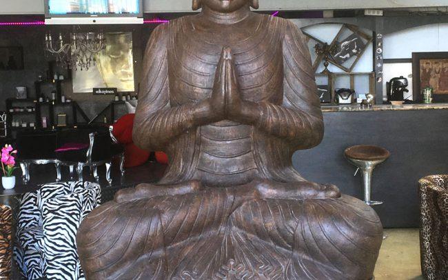 Bouddha Indonésie DEWI décoration mobilier de jardin Sanary
